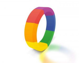 pride cock ring rainbow